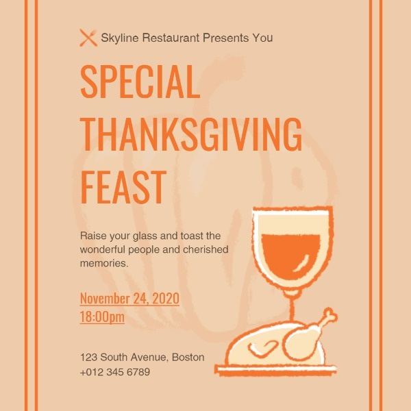 Special Thanksgiving Feast