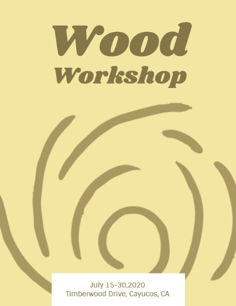 Wood Workshop Program