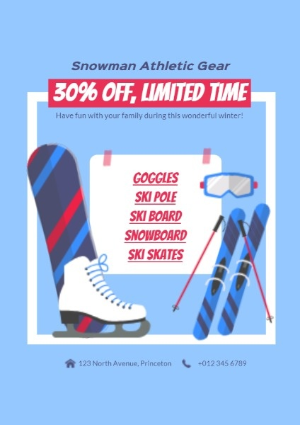 Snowman Athletic Gear  Discount