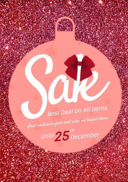 Red Christmas Bell Sale