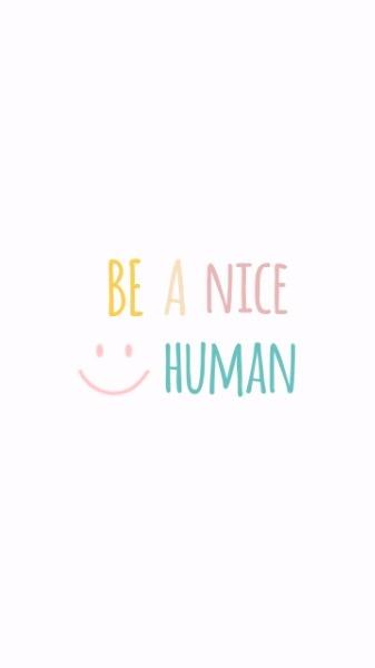 be a nice human_lsj_20180929