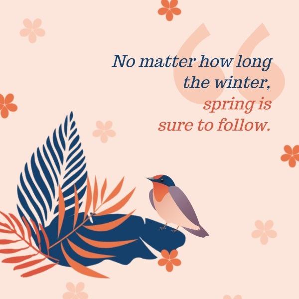 Happy Spring Quote