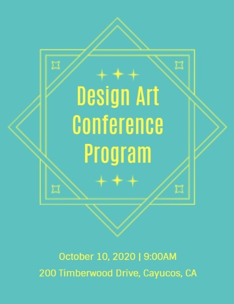 Design Art Conference Program