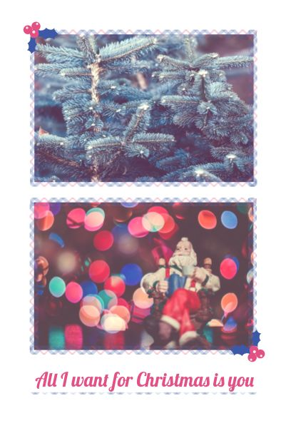 Christmas Collage Pinterest Post