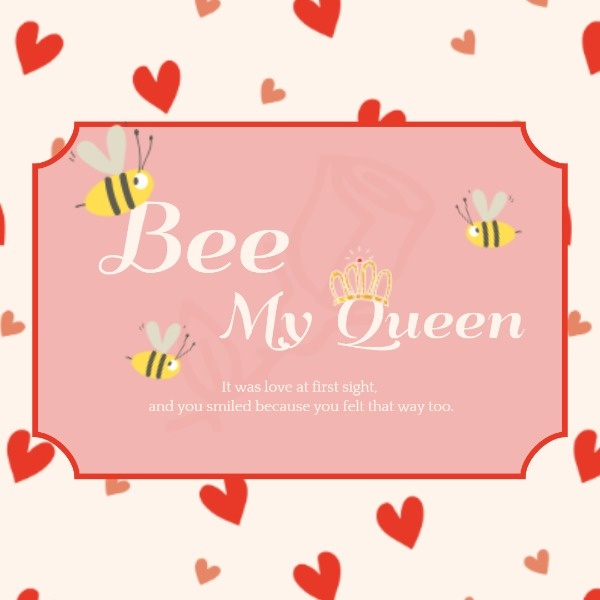 Bee My Queen