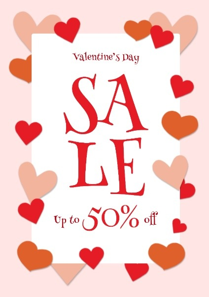 Pink Valentine's Day Sale