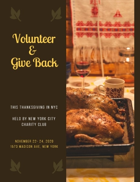 Thanksgiving Volunteering Event