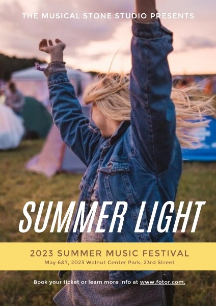 Summer Light Music Festival Event