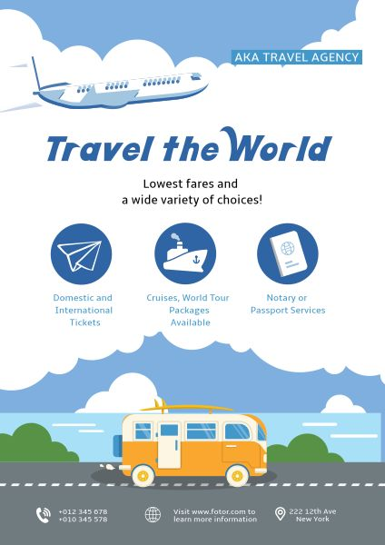 Travel Agency Ads