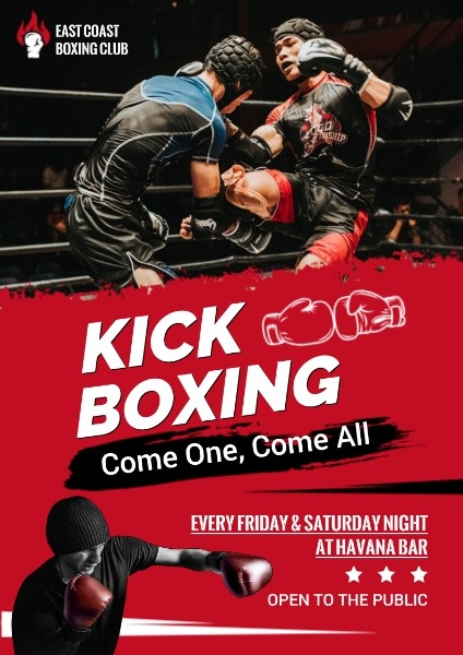 Red Kick Boxing Game