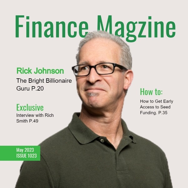 Finance Magazine Cover