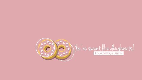 Pink Doughnut
