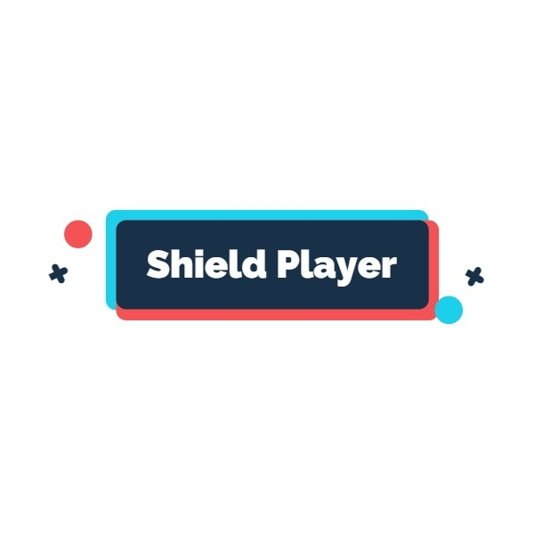 Cool Game Player Logo