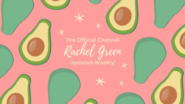 Painted Avocado Youtube Channel Banner