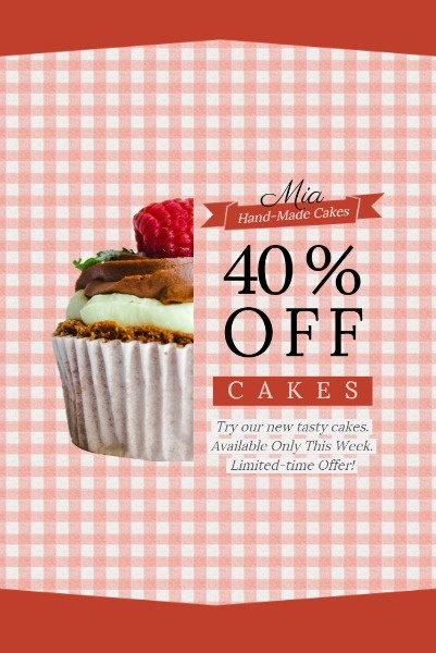 Pink Cake Discount Sale