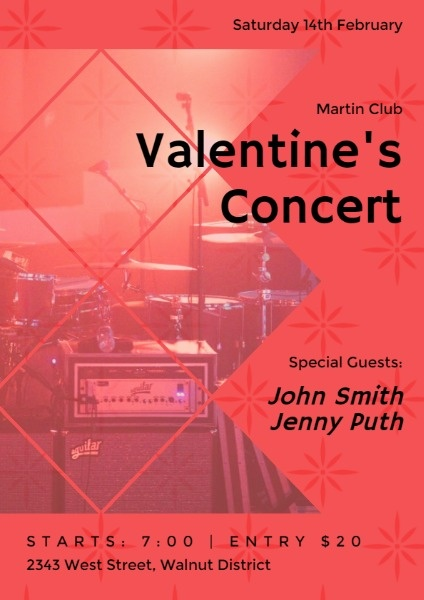 Red Valentine's Day Concert