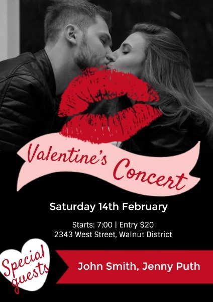 Black Valentine's Day Concert