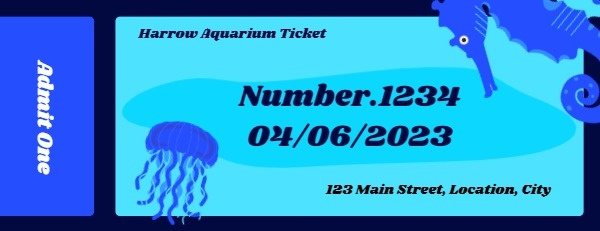 Aquarium Ticket