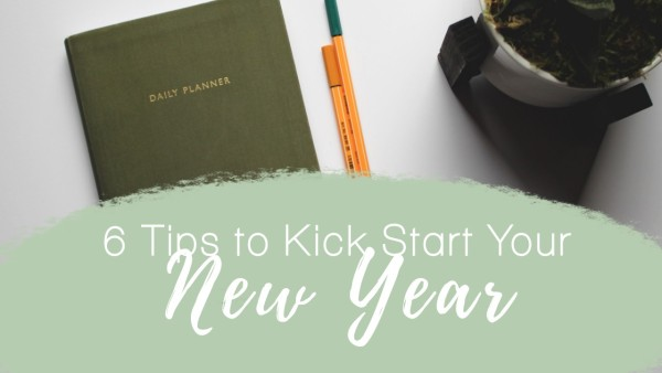 Green White New Year Tips Youtube Thumbnail