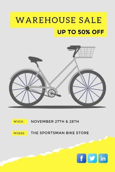 Bike Warehouse Sale