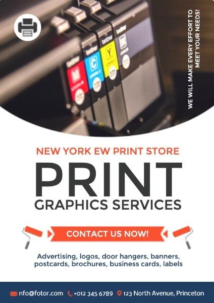 Printing Service Ads