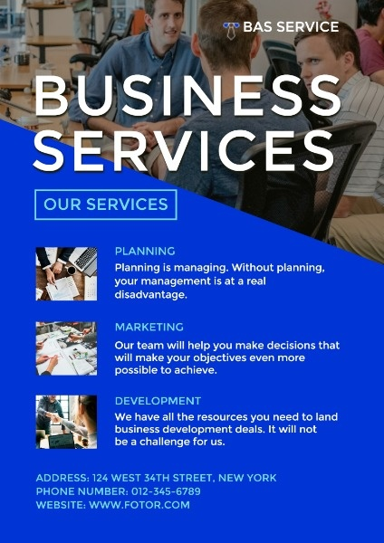 Blue Business Management Service