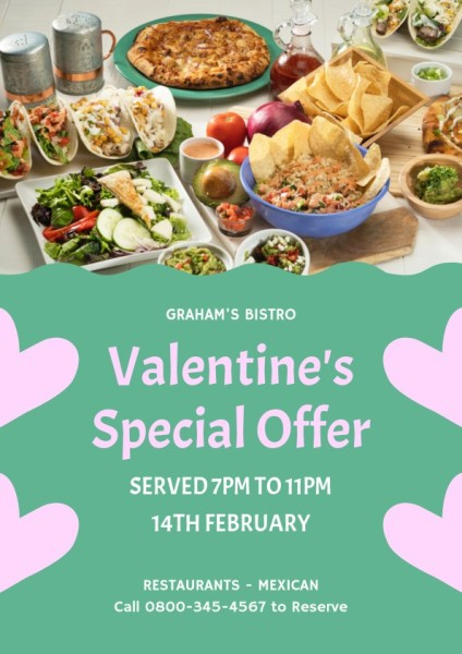 Green Valentine's Special Offer
