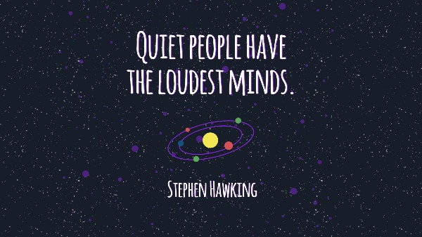 Top Reasons To Use Fotors Hawking Quote Universe Wallpaper Maker