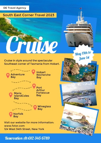 Travel Agency Cruise Promotion