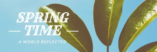 Botanical Spring Time Header