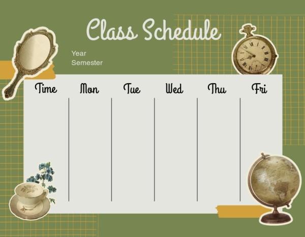 28class schedule_lsj