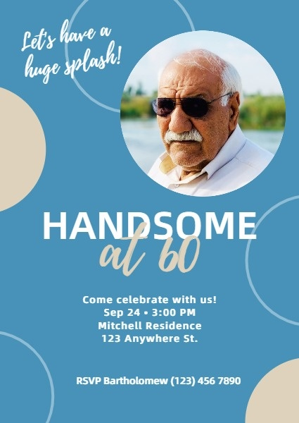 Handsome Birthday Party