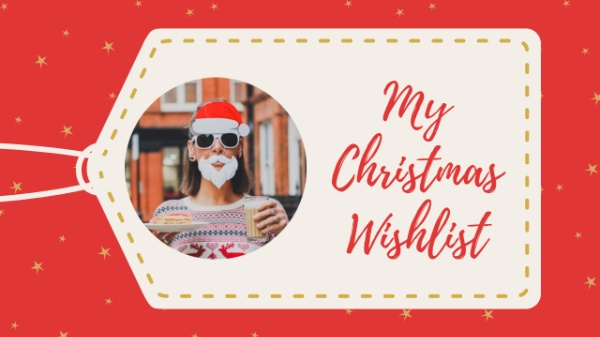 online christmas wishlist youtube thumbnail template fotor design maker