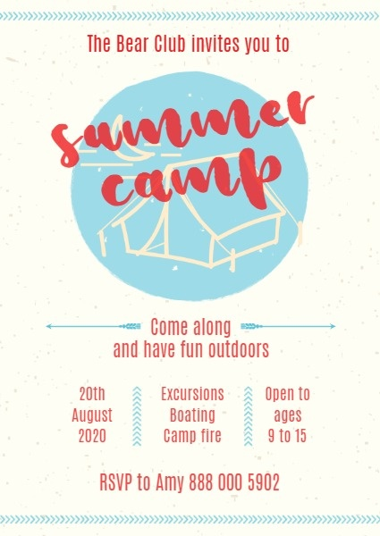 Retro Summer Camp