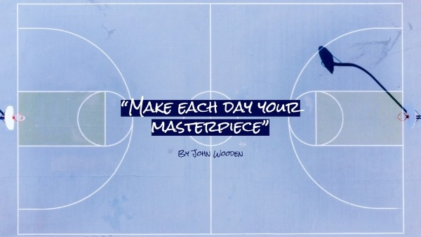 Online Basketball Inspiration Quote Wallpaper Template Fotor
