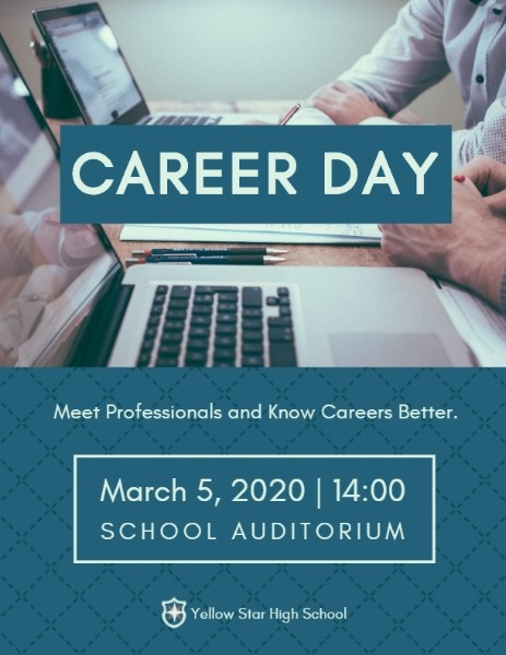 Blue Career Day Program