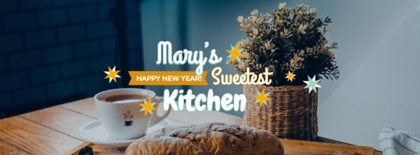 New Year Sweet Kitchen