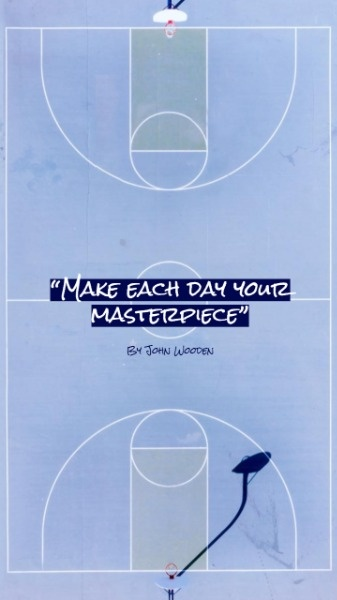 Basketball Inspiration Quote
