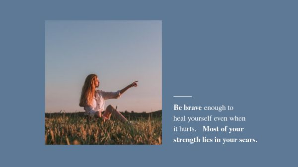 Be Brave Quote Wallpaper