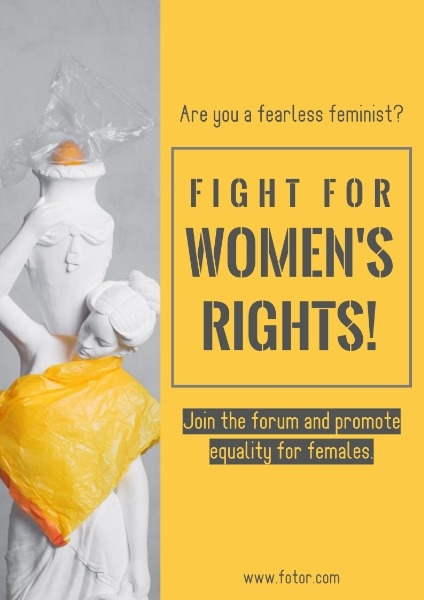 Yellow Women's Rights Activity