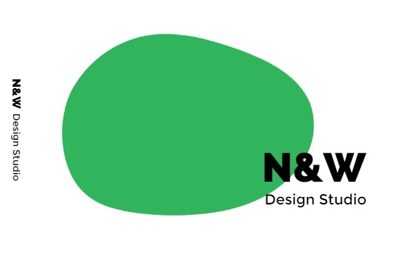 Simple Green Design Studio Business Card