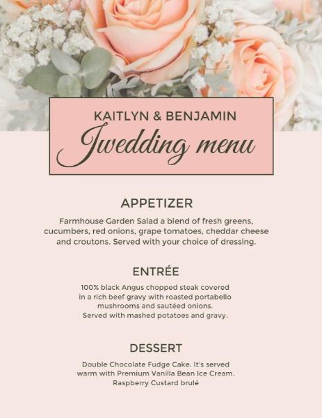 Rose Flower Wedding