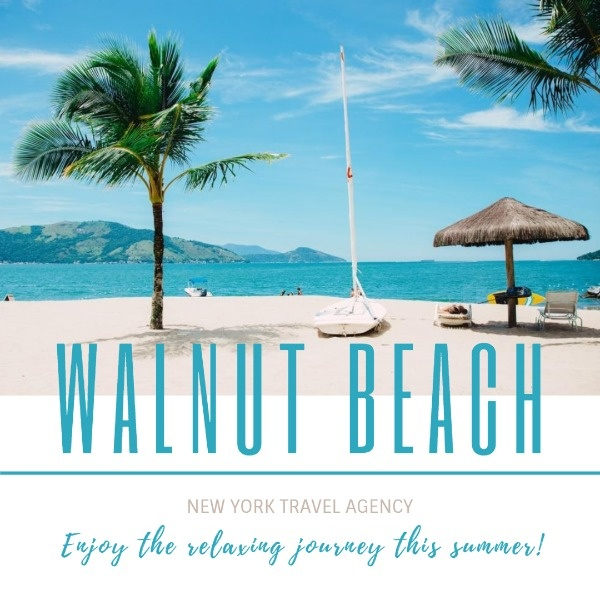 Walnut Beach Instagram Post