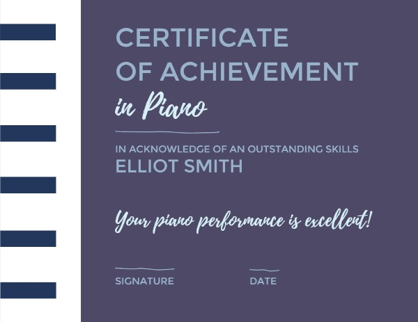 Piano Achievement
