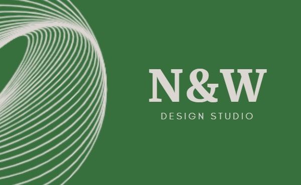 Green Design Studio Business Card