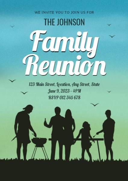 Family Reunion Night Party