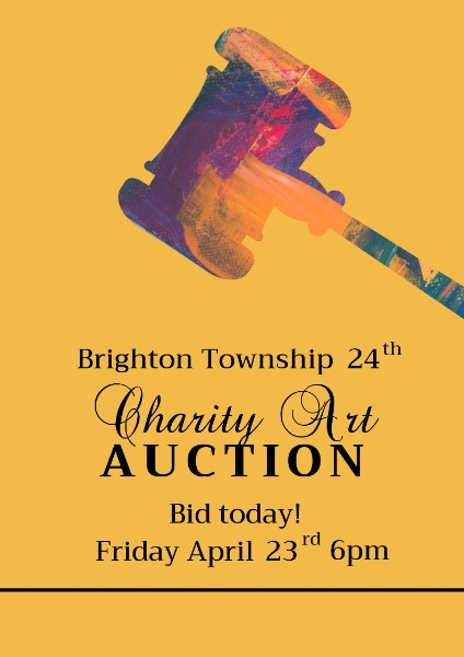 Yellow Charity Art Auction