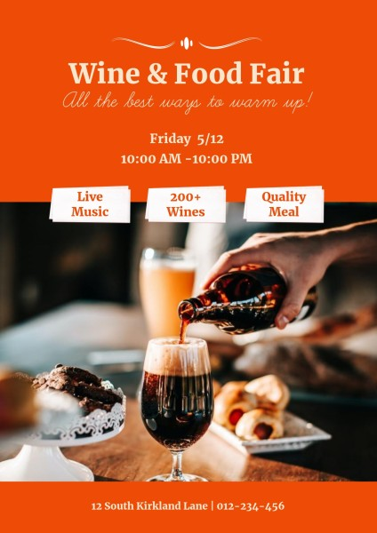 Orange Wine And Food Fair