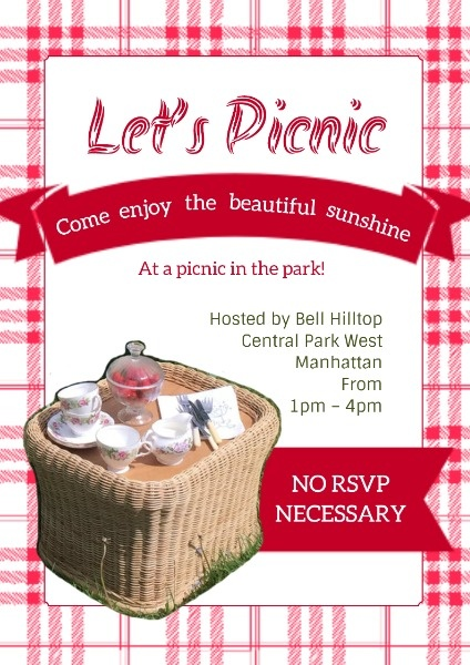 Pink Picnic Invitation