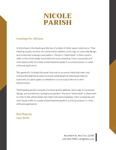 Parish Letterhead